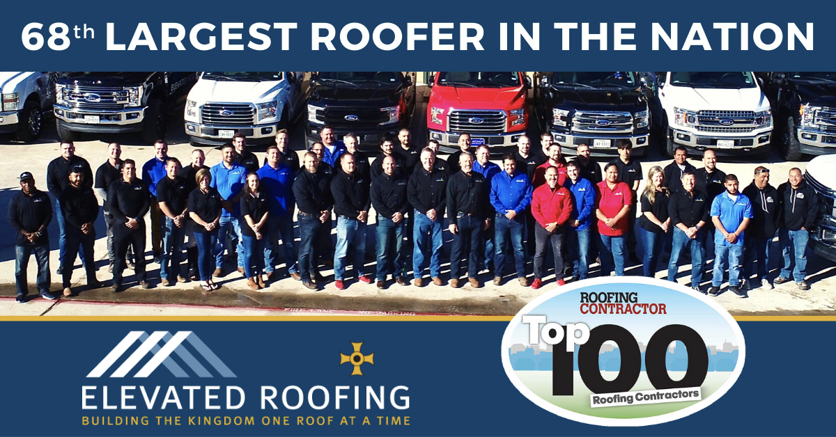 68th Largest Roofer in Nation