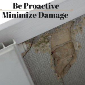 Be Proactive Minimize Roof Damage