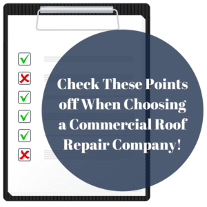 Check These Points Off When Choosing a Commercial Roof Repair Company! | Elevated Roofing Plano, TX