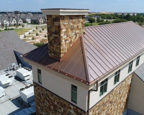 Commercial roofing types - Cooper Fitness Center