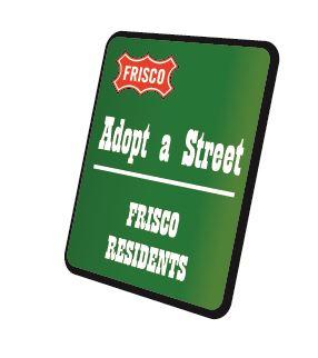 Frisco Adopt a Street
