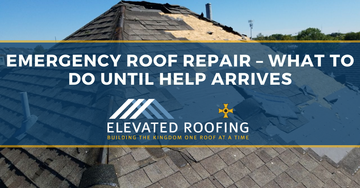Emergency Roof Repair - What To Do