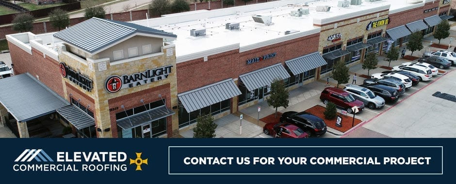 Elevated Commercial Roofing Frisco Texas