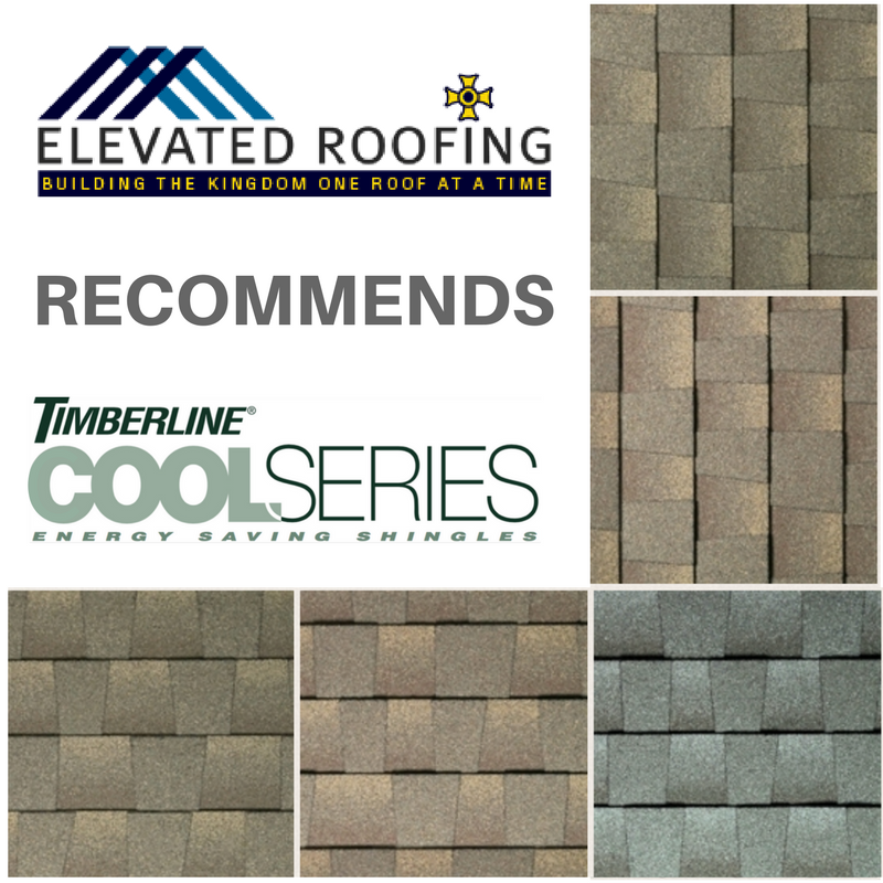 Elevated Roofing Recommends TImberline Cool Series McKinney Roofing
