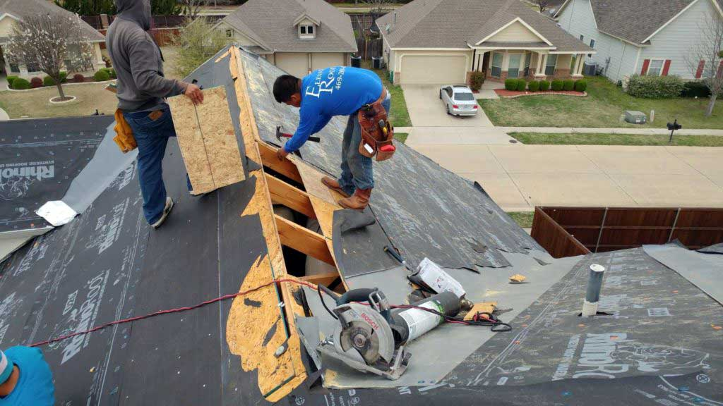 Roof Repairs and Replacements in Frisco, TX