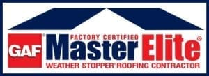 Elevated Roofing is GAF Master Elite Certified Weather Stopper Roofing Contractor