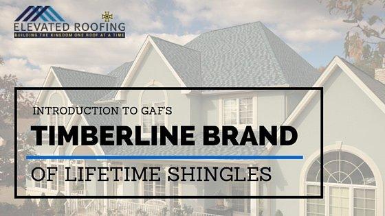 Intro to GAF's Timberline Brand of Lifetime Shingles