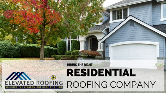Residential Roofing Company   Elevated Roofing   Frisco Texas