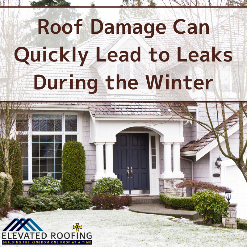 Roof Damage Can Quickly Lead to Leaks During the Winter