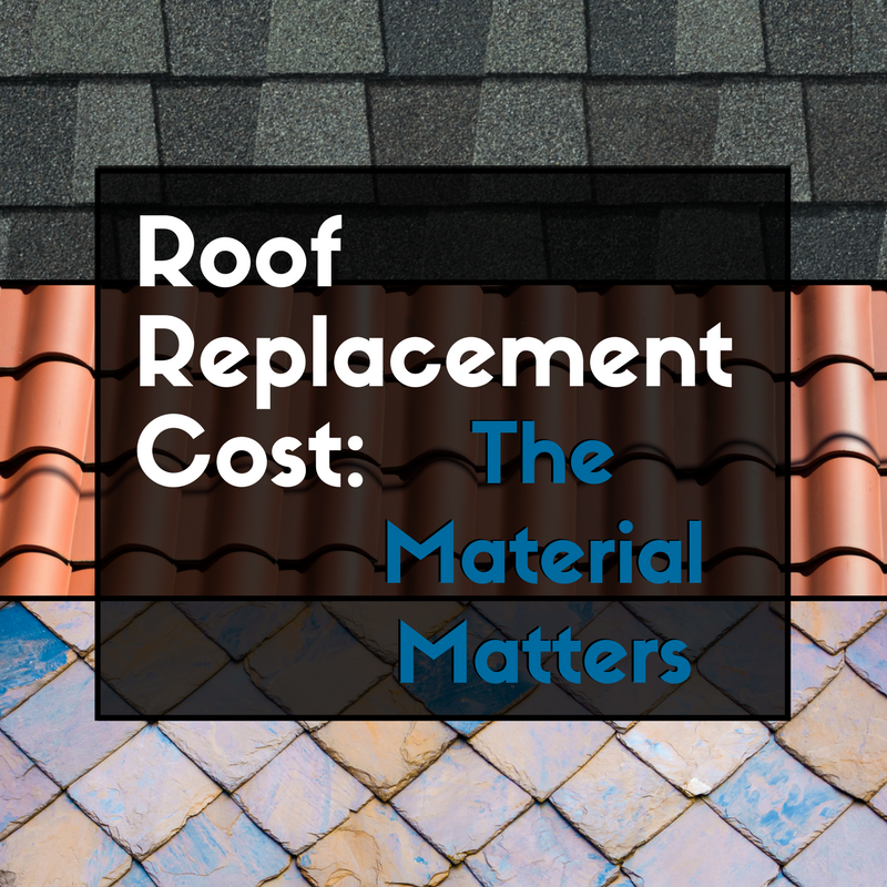 Roof Replacement Cost: The Materials Matter