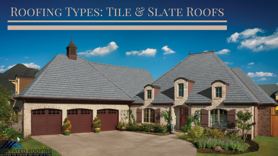 Roofing Types Slate & Tile | Dallas Area Roofer | Elevated Roofing
