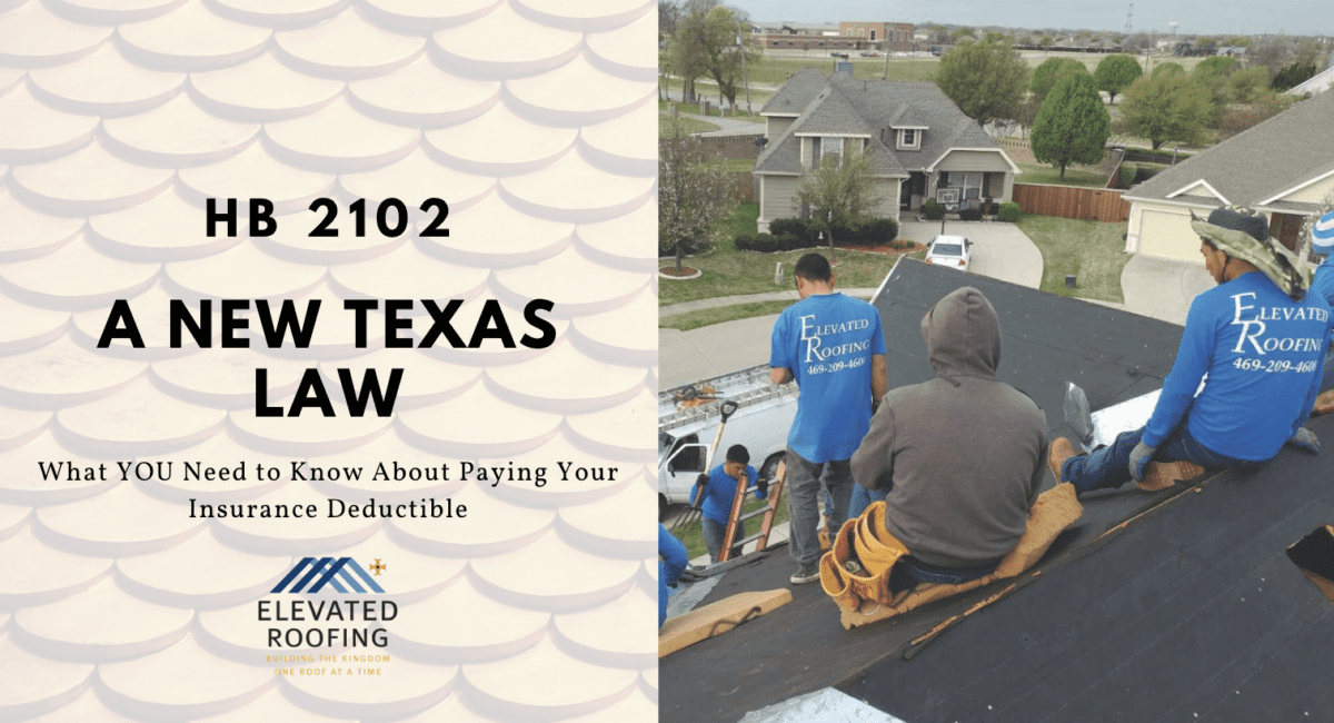 Elevated Roofing HB 2102
