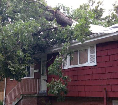 Storm-Damage-Roof-Carrollton-TX & Carrollton Roofing Company Roof Replacement Inspection memphite.com