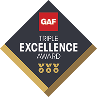 Triple-Excellence-Award | Elevated Roofing