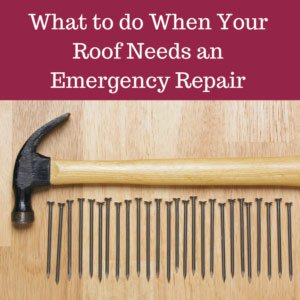 What To Do When Your Roof Needs an Emergency Repair
