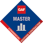GAF Factory Certified Master Elite Logo | Elevated Roofing