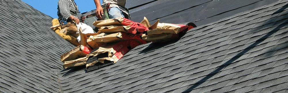 Roofers Replacing Shingles